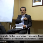 Francesco Nonno, Responsabile Antitrust e Tutela del Consumatore di Telecom Italia, intervistato da Armando Pintus