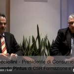 Fabio Picciolini Presidente di Consumers'Forum, intervistato da Armando Pintus, fa il punto della situazione attuale e indica i suoi obiettivi
