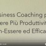 Business coaching per aumentare produttività, efficacia e benessere: una testimonianza.