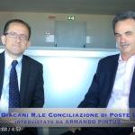 Romolo Giacani di Poste Italiane intervistato sulla Conciliazione da Armando Pintus